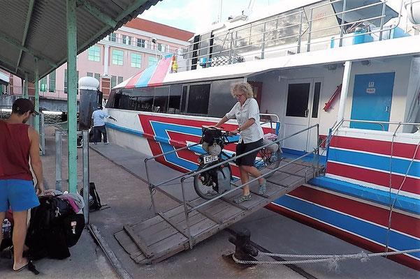 Eseltransport  - Radreise - Cycletouring - Thailand