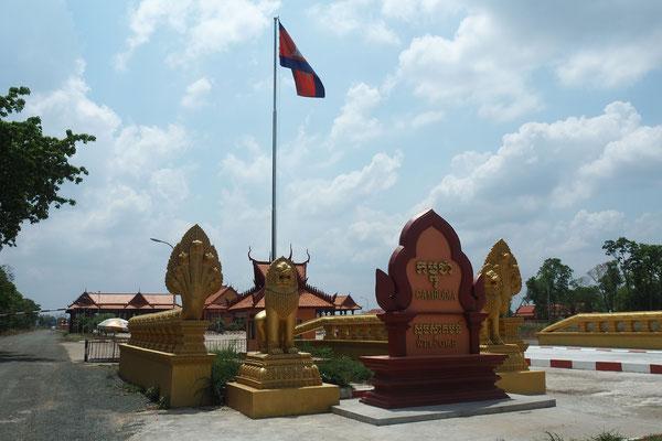 Das erste, was wir von Kambodscha sehen