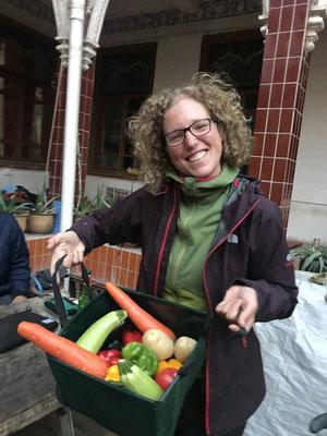 Es gibt endlich wieder gaaaanz viel Gemüse