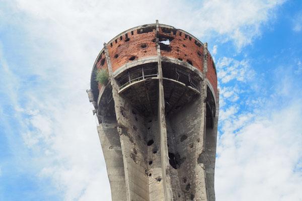 als Denkmal konserviert -  Kroatienkrieg 1991 bis 1995