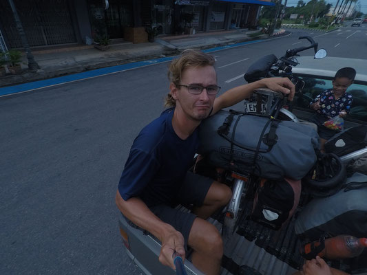 Kameraman  - Radreise - Cycletouring - Thailand