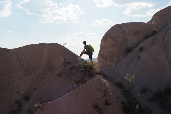 Der Mann in den Felsen