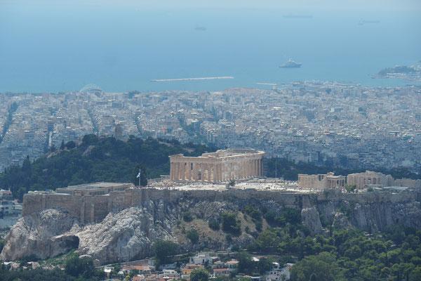 Die Akropolis, das Wahrzeichen Athens - Radreise - Alles in 12 Taschen