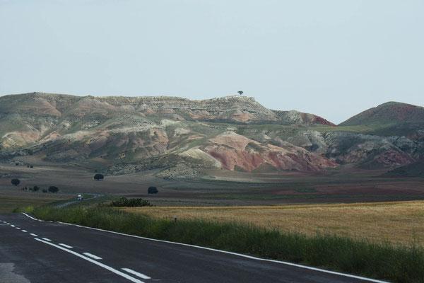 Die Landschaft verändert sich...