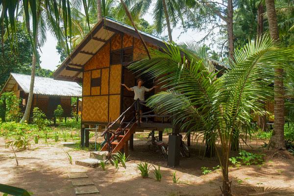 unsere zweite Hütte