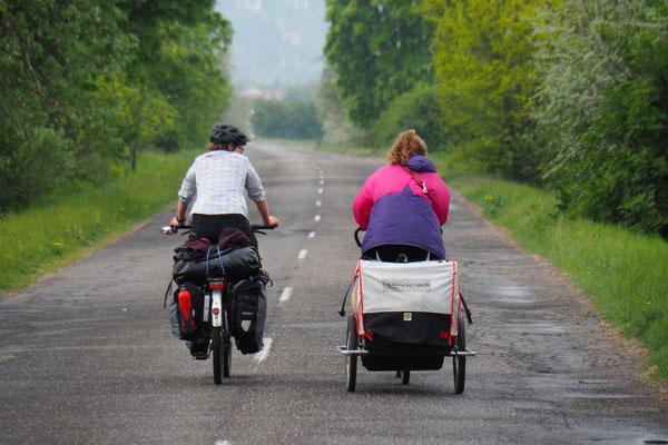 Lena und Simone on the Road