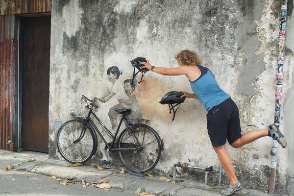 """"""" Vergesst eure Helme nicht!""""  - Radreise - Cycletouring - Thailand"""