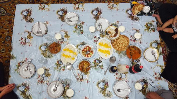 Iranisches Abendessen