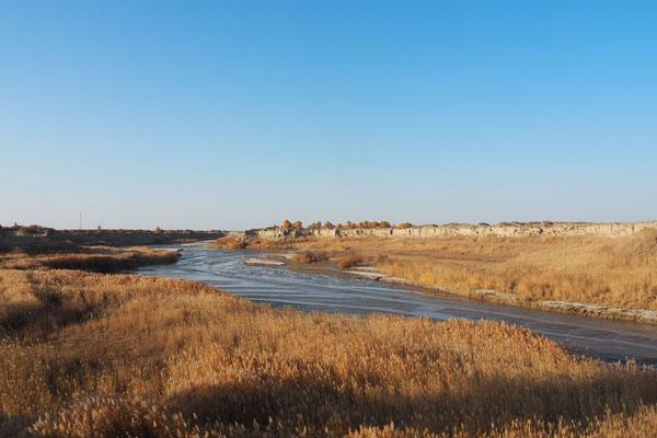Einer der wenigen Wasserführenden Flüsse