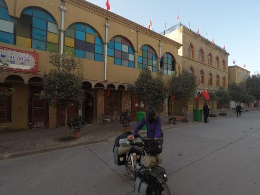 Ankunft am Hostel in der Altstadt