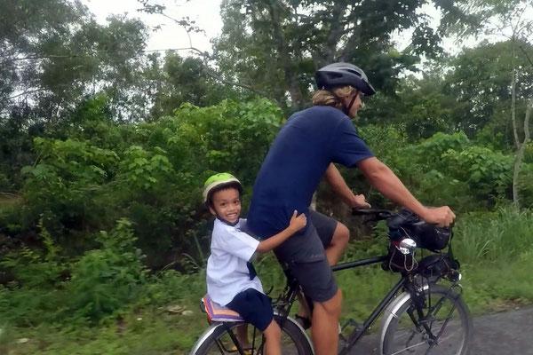 Den Kleinen so zu transportieren war nicht meine Idee