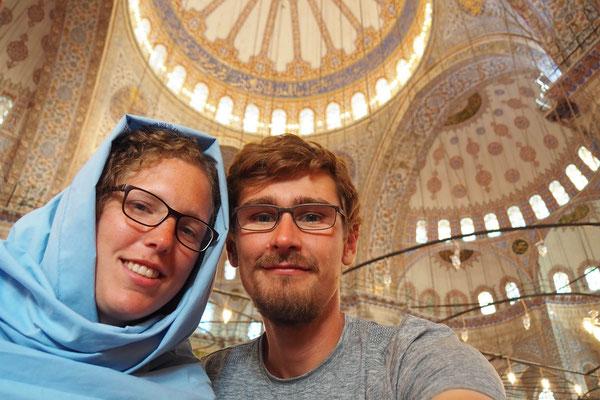 Ein Moschee - Selfi