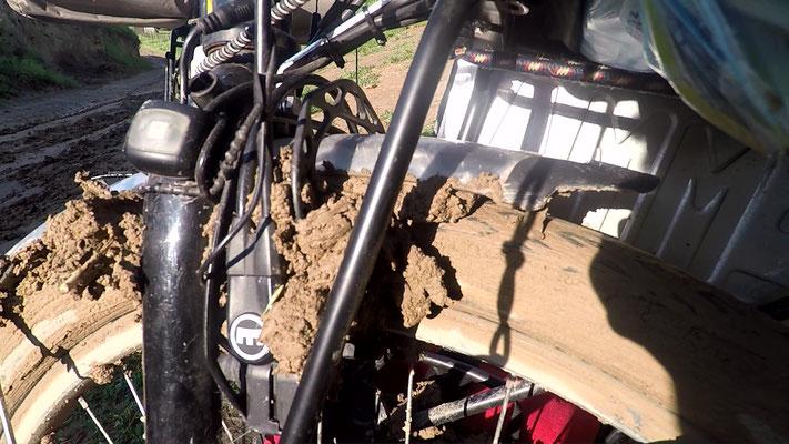 Andere Bremsen könnte man jetzt einfach aushängen - nicht so diese hier...