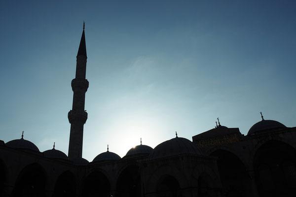 Vorhof der Blauen Moschee