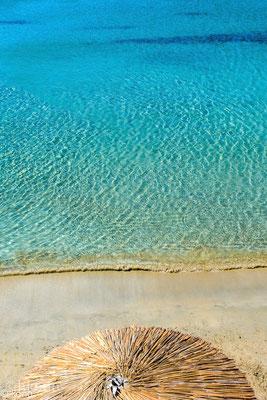 Am Strand von Vathi (Basislager)