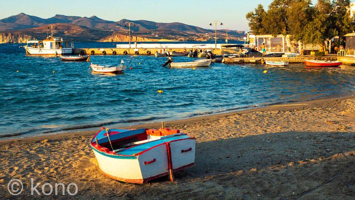 Am Strand von Apollonia