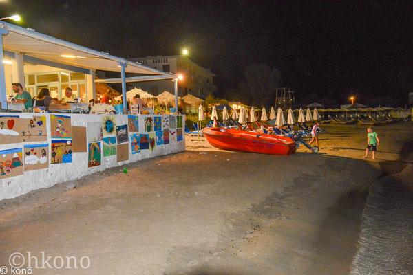 Direkt am Strand von Vathi gibt es 3 kleine Tavernen