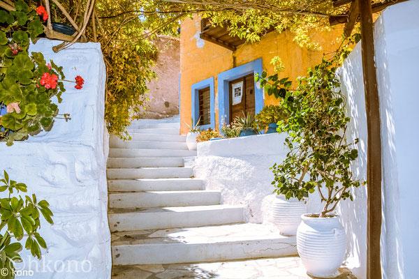 Ano Syros, die Altstadt