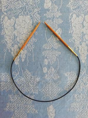 KnitPro Rundnadel 40 Basix Birch