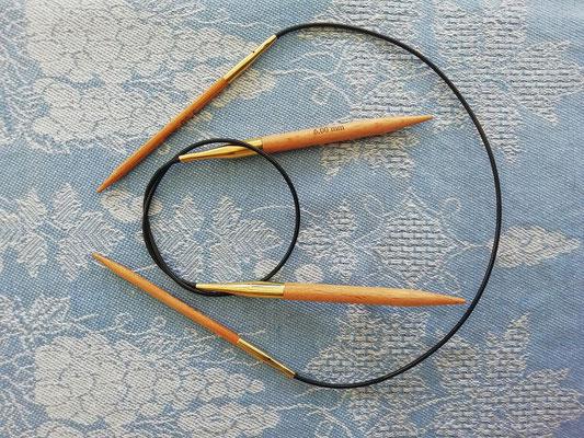 Basix Birch Rundstickor 40 cm från KnitPro
