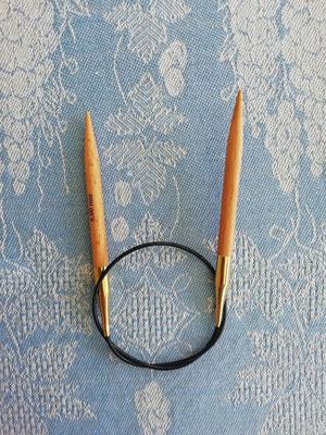 KnitPro Rundnadel 40 aus Birkenholz
