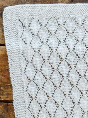 Babyfilt i ONION Soft Organic Wool+Nettles