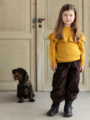 Tröja till barn i ONION garn Alpaca+Merino Wool+Nettles