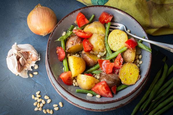 Französische Kartoffelpfanne