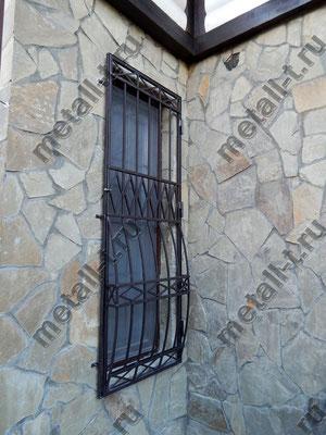 Дутая решетка на окно