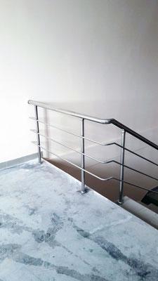 Ограждения лестничные из нержавеющей стали