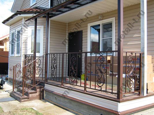 Ограждения балконов и крылец