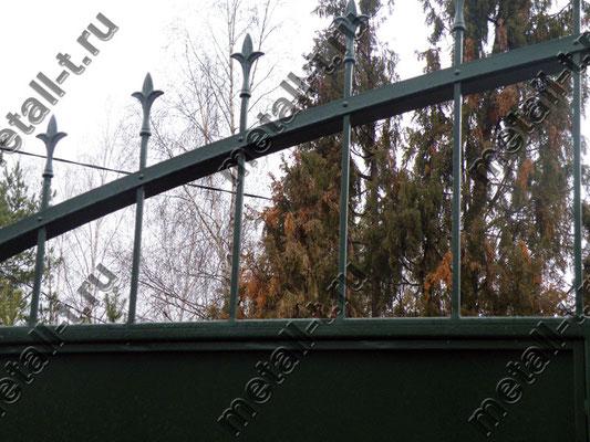 Элемент декора ворот