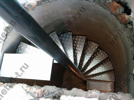 Техническая винтовая лестница