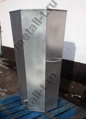 Купель из нержавеющей стали