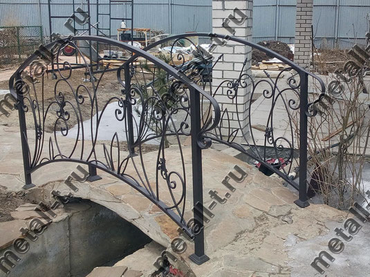 Ограждения мостика