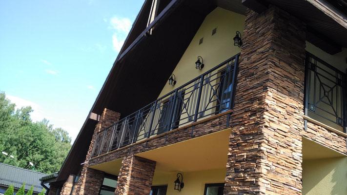 Сварное ограждение балкона