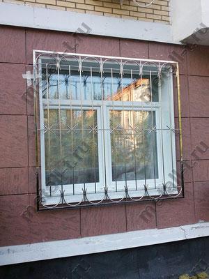 Решетка на окно из нержавейки