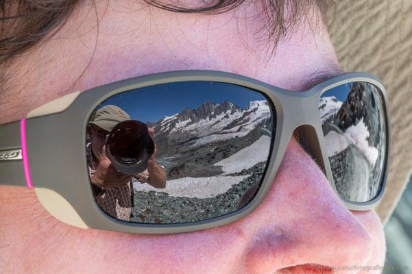 unterwegs in der Gletscherwelt