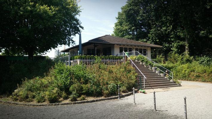 Unser Vereinsheim mit Terrasse