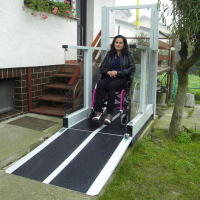 Liftboy Ideal für Rollstuhlfahrer
