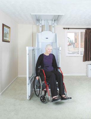 Für Rollstuhlfahrer im privaten Bereich