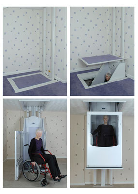 Lift verschließt die Deckenöffnungen beim Herunterfahren