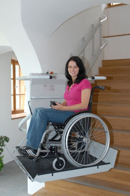 Besonders für Rollstuhlfahrer geeignet