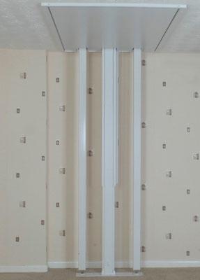 Lift verschließt die Deckenöffnung automatisch nach der Durchfahrt