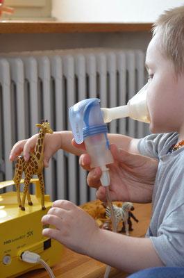 Kinderphysiotherapie Atemtherapie