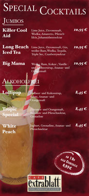 Special Cocktails