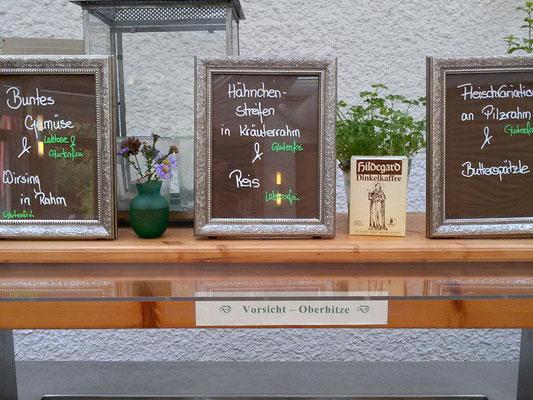 Mittagsbuffet im Hildegard Forum Bingen