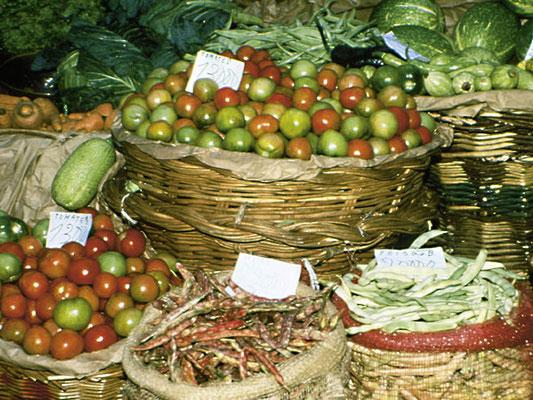 Obst aus Madeira