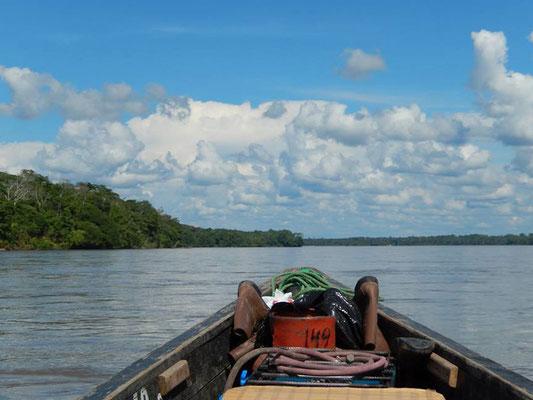 Ecuador: Amazonas Kanufahrt