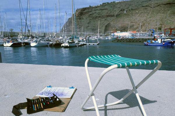Kreativreise: Zeichnen auf La Palma, Kanaren